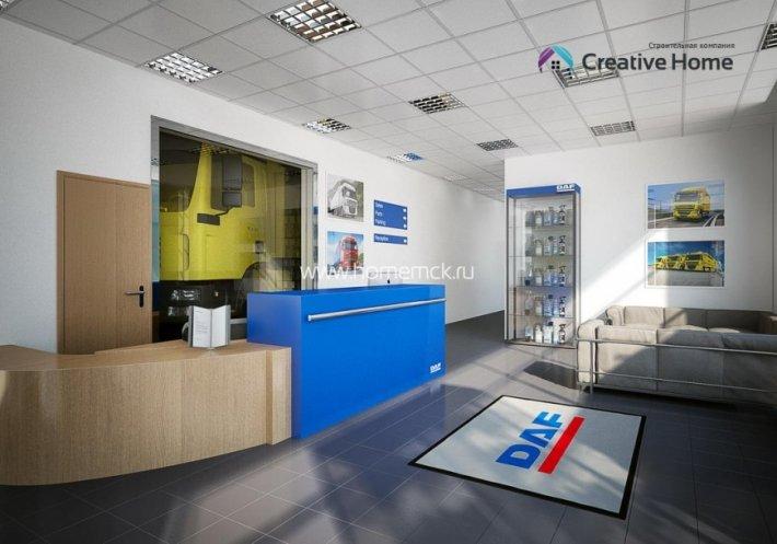 Дилерский центр DAF Russia
