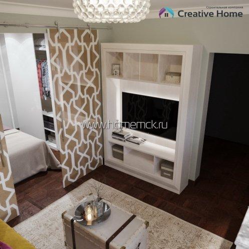 Однокомнатная квартира в Праге