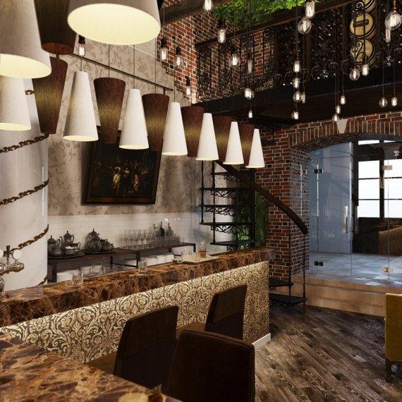 Дизайн ресторанов и баров